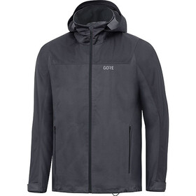 GORE WEAR R3 Gore-Tex Active Hooded Jacket Men terra grey/black